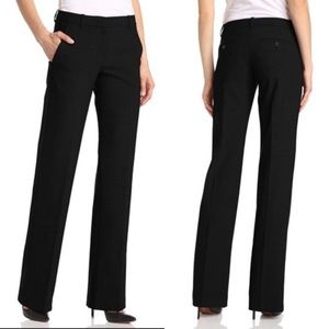 THEORY Emery Wool Dress Pants Black 0